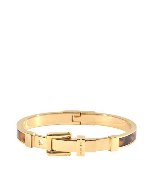 MICHAEL Michael Kors | Gold Armband Heritage | Lyst