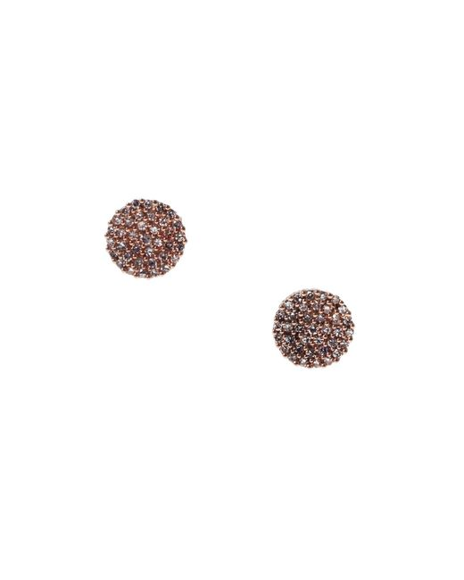 Demitasse | Metallic Demi Dot Earrings | Lyst