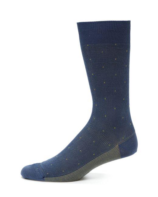 Saks Fifth Avenue | Blue Printed Cotton-blend Socks for Men | Lyst