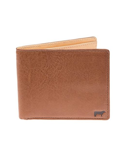 Will Leather Goods | Brown 'barnard' Wallet for Men | Lyst
