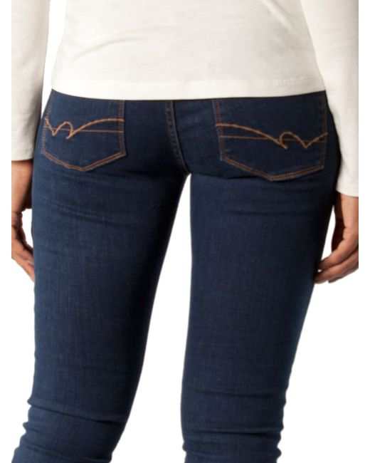 tommy hilfiger como sofia jeans in blue lyst. Black Bedroom Furniture Sets. Home Design Ideas