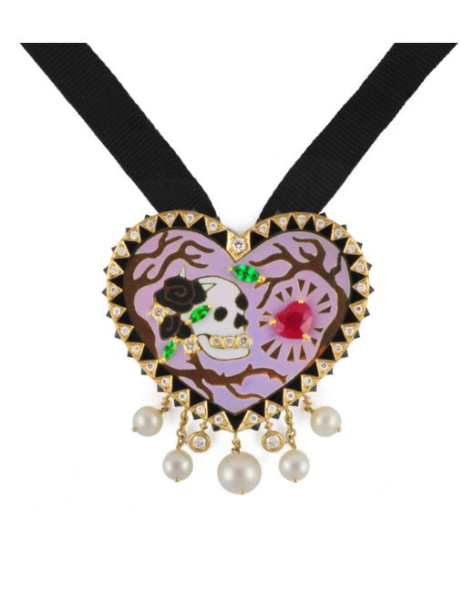 Holly Dyment   Metallic Eternal Heart Necklace   Lyst