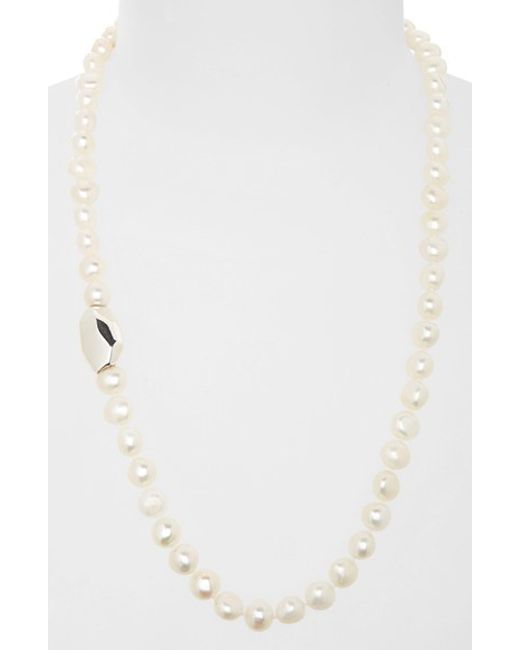 Simon Sebbag | White Beaded Necklace | Lyst