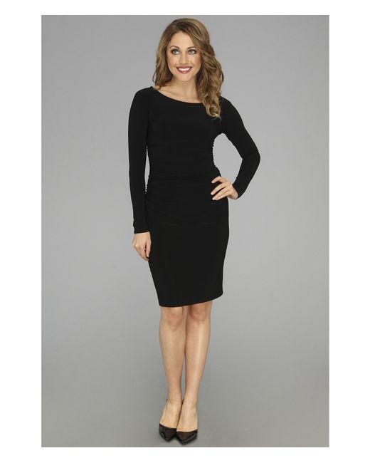 Kamalikulture   Black L/s Shirred Waist Dress   Lyst