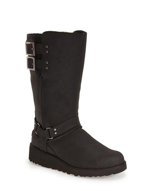 Ugg | Black Ugg 'jasper' Water Resistant Boot | Lyst
