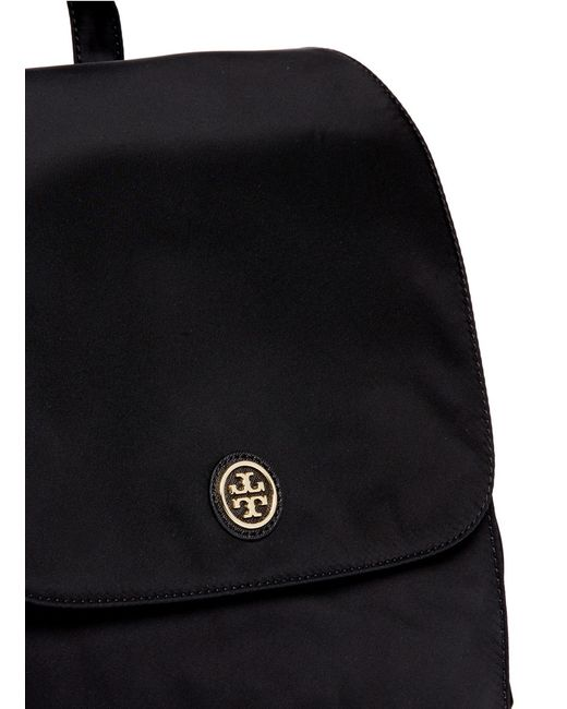 Tory Burch Travel Nylon Baby Backpack In Black Lyst