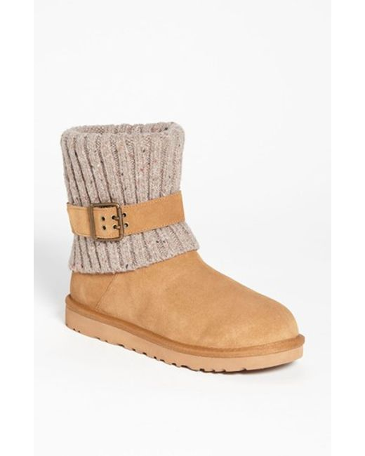 ugg cambridge boot in brown chestnut save 30 lyst