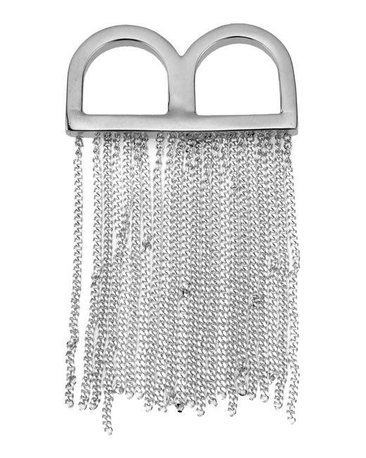 MM6 by Maison Martin Margiela   Metallic Ring   Lyst