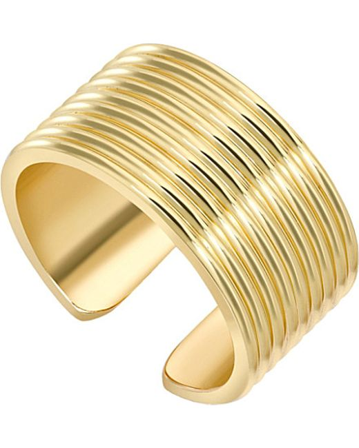 Theo Fennell | Metallic Yellow Gold Whip Torque Ring | Lyst