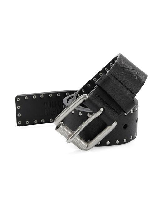 William Rast | Black Studded Belt for Men | Lyst