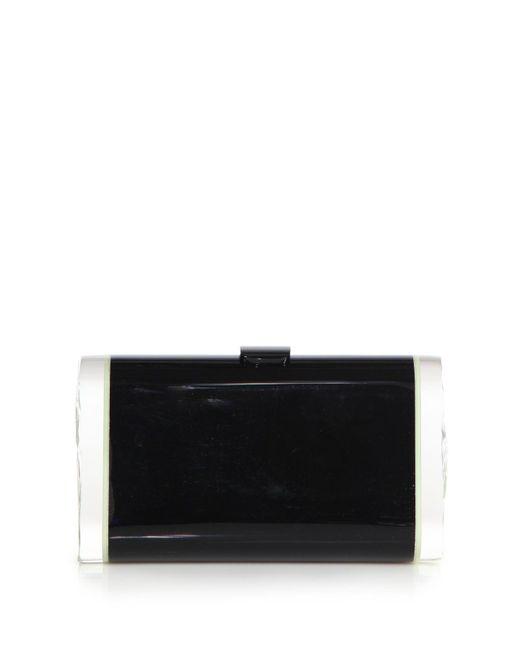 Edie Parker | Black Lara Acrylic Clutch | Lyst