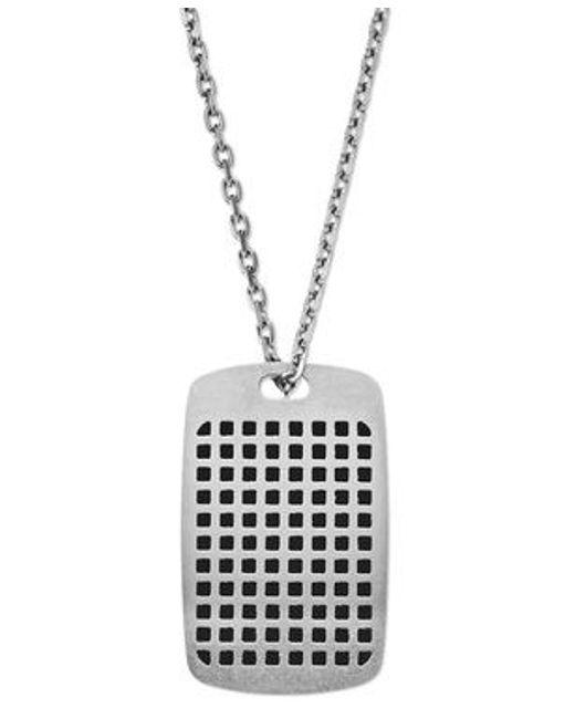 Emporio Armani | Metallic Egs2116040 Mens Necklace for Men | Lyst