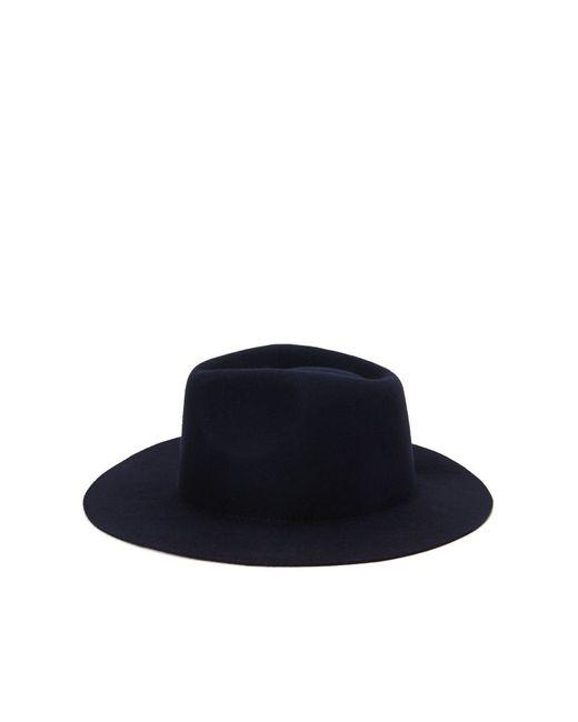 Forever 21   Blue Wide-brim Wool Hat   Lyst