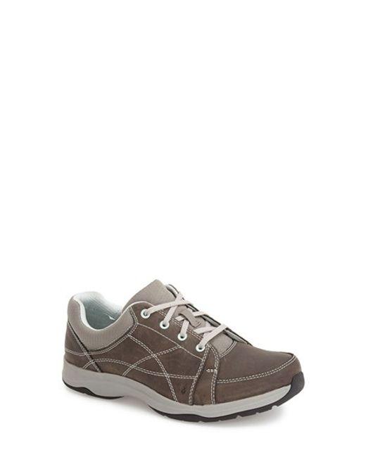 Ahnu | Gray 'taraval' Waterproof Sneaker | Lyst