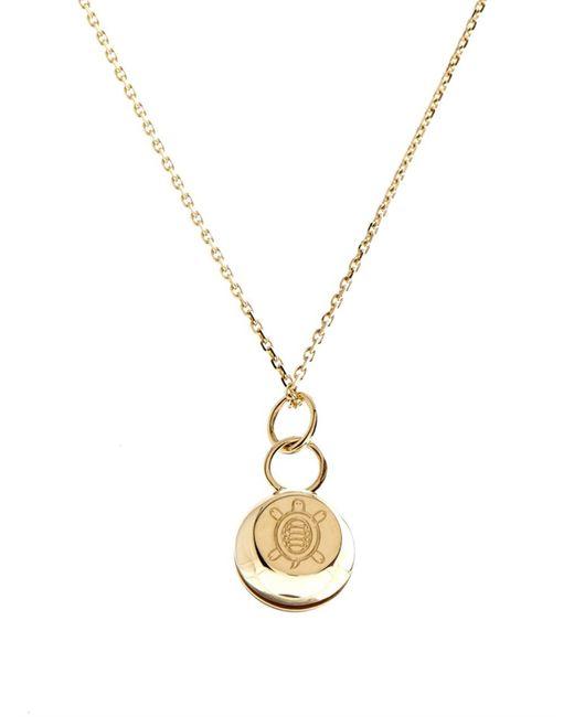 Aurelie Bidermann | Bell Yellow-Gold Necklace | Lyst