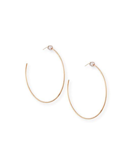 Vita Fede | Pink Pearl Stud Hoops | Lyst