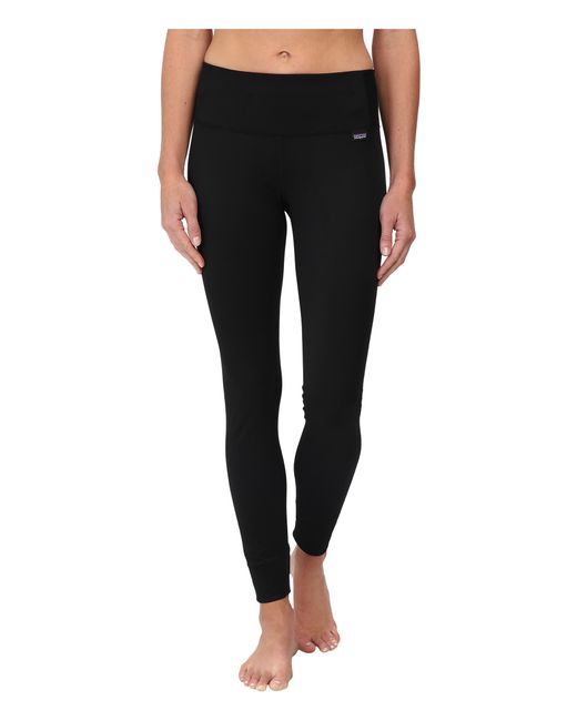 Patagonia | Black Cap Mid Weight Bottoms | Lyst