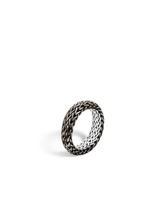 John Hardy | Metallic Classic Chain Band Ring for Men | Lyst