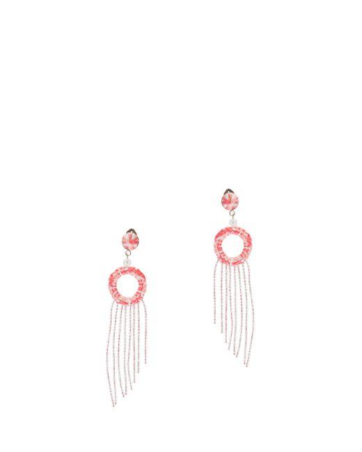 Missoni   Pink Fringed Earrings   Lyst