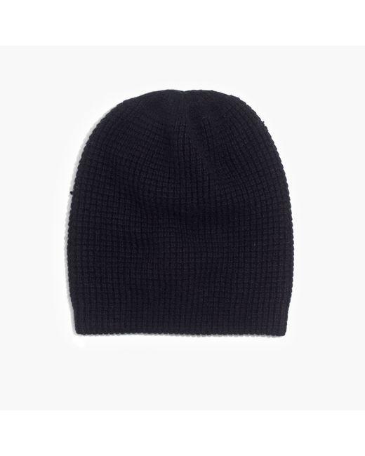 Madewell | Black Cashmere Beanie | Lyst