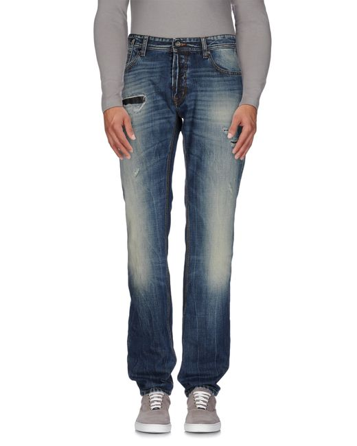 Just Cavalli | Blue Denim Pants for Men | Lyst