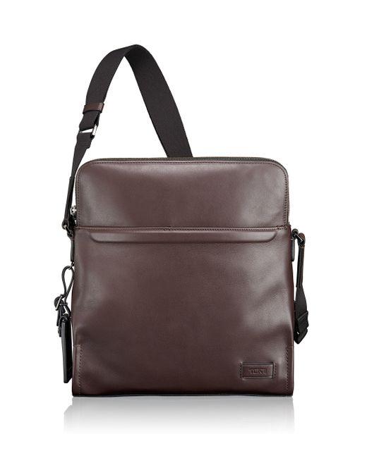 442ec50d3ab6 Tumi Men's Leather Crossbody Bag | Stanford Center for Opportunity ...