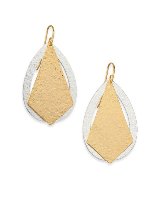 Stephanie Kantis | Metallic Paris Deco Kite & Teardrop Earrings | Lyst