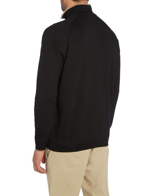 Bobby Jones | Black 1/4 Zip Competition Sweater for Men | Lyst