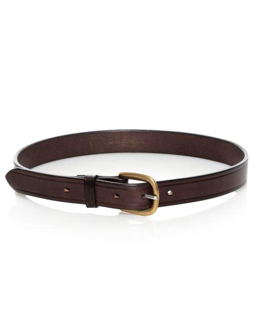 joe s mens leather belt in brown for lyst