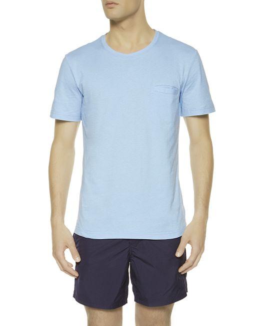 La Perla | Blue T-shirt for Men | Lyst