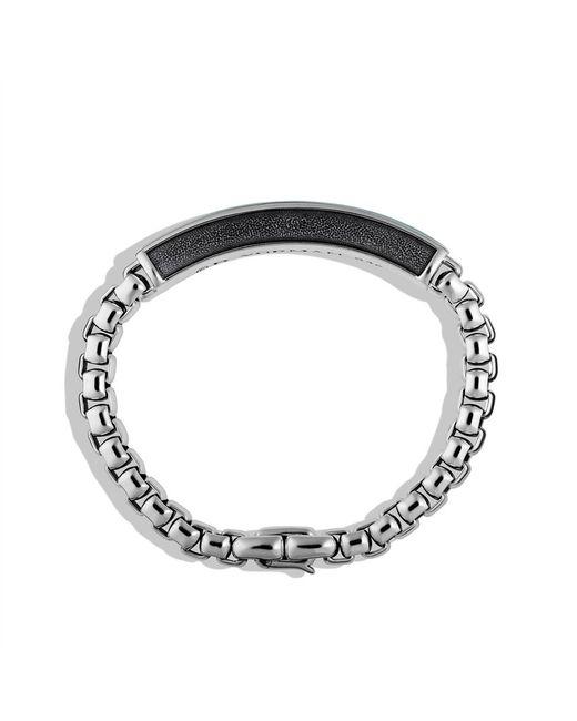 David Yurman   Metallic Exotic Stone Tablet Bracelet with Malachite for Men   Lyst