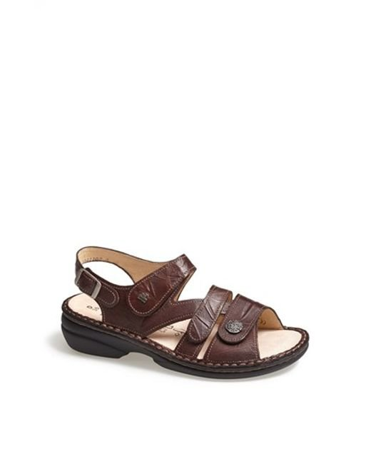 Finn Comfort | Brown 'gomera' Sandal | Lyst