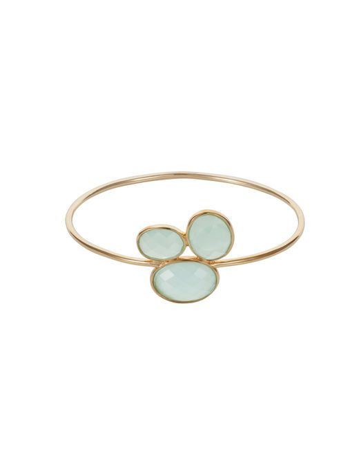 Caroline Creba | Blue 18ct Gold Plated Sterling Silver 14ct Aqua Chalce | Lyst