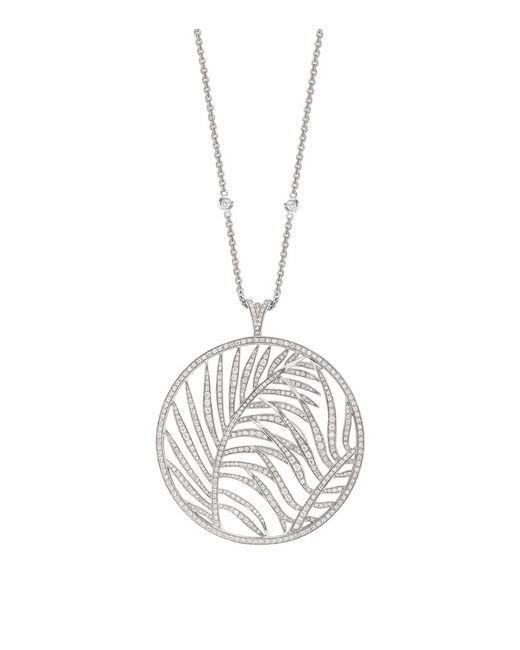 Theo Fennell | Metallic Large Palm Diamond Pendant | Lyst