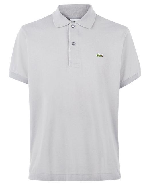 Lacoste | Gray Plain L.12.12 Original Polo for Men | Lyst