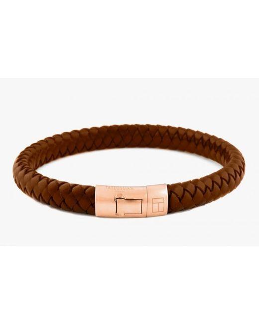 Tateossian | Pink 18k Rose Gold Cobra Bracelet In Brown | Lyst