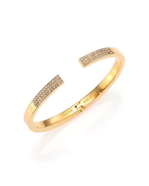 Vita Fede | Yellow Diviso Crystal Cuff Bracelet/Goldtone | Lyst