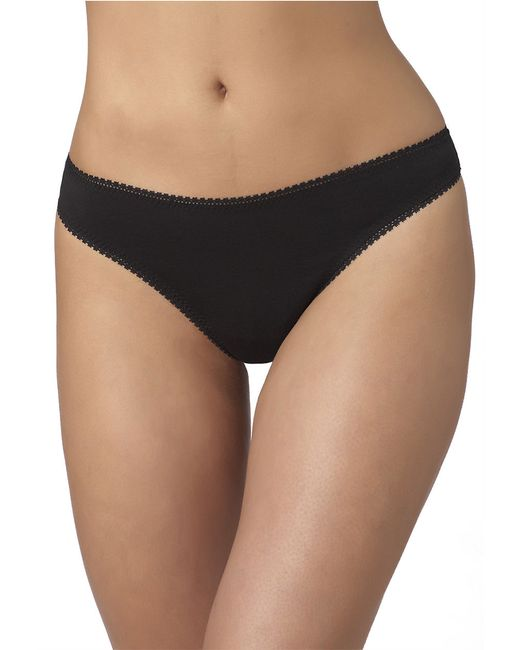 On Gossamer | Black Cabana Cotton Hip-g Thong | Lyst