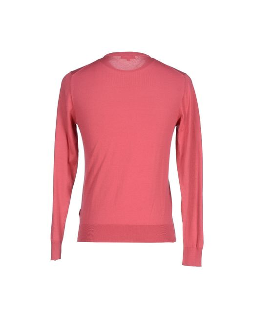 Geox | Pink Jumper for Men | Lyst