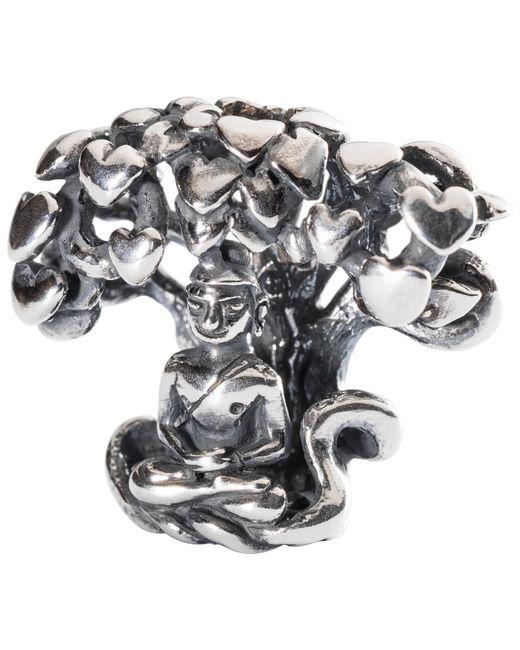 Trollbeads | Metallic Sterling Silver Tree Of Awareness Pendant | Lyst