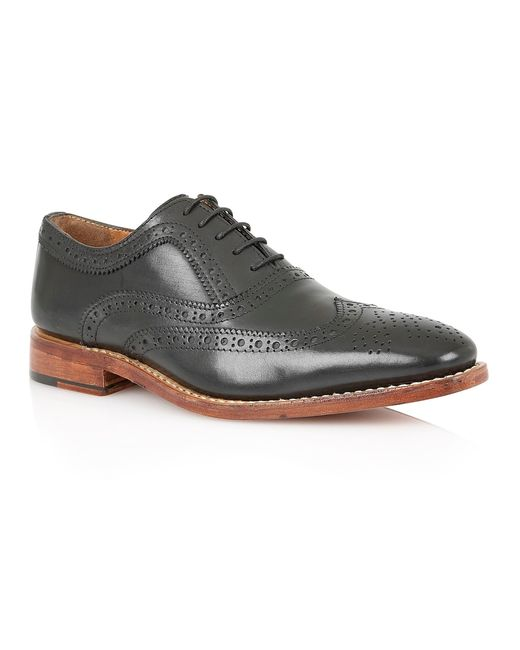Lotus | Black Harry Lace Up Formal Brogues for Men | Lyst