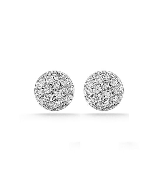 Dana Rebecca | Metallic White Gold Lauren Joy Mini Studs | Lyst