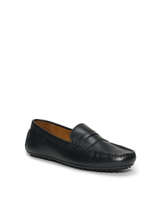 Polo Ralph Lauren | Black Workington Leather Driver for Men | Lyst