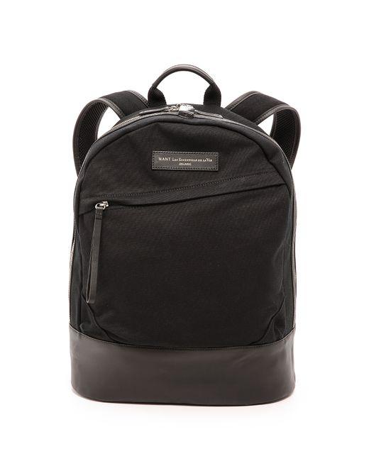 Want Les Essentiels De La Vie | Black Canvas Kastrup Backpack for Men | Lyst