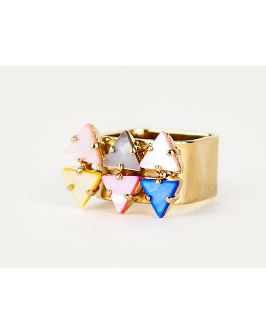 Sabrina Dehoff | Metallic 6 Mountain Ring | Lyst