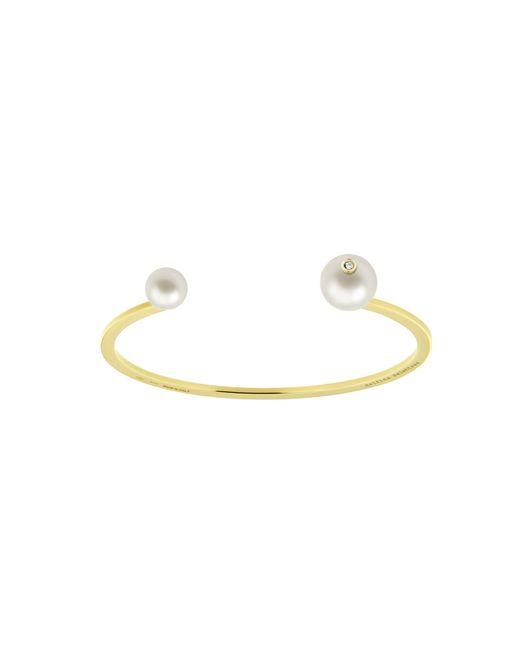 Delfina Delettrez | White Pearl Piercing Bracelet | Lyst