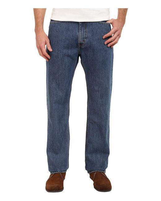 Levi's | Blue 513 Slim Straight Fit Jeans for Men | Lyst