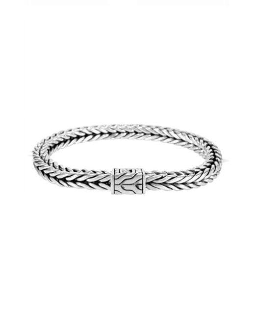 John Hardy   Metallic 'classic Chain' Medium Bracelet   Lyst