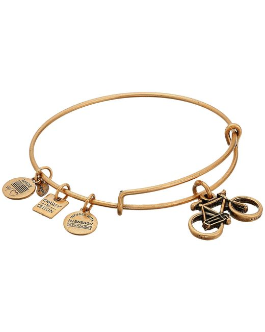 ALEX AND ANI | Metallic Charity By Design Bike Charm Bangle | Lyst