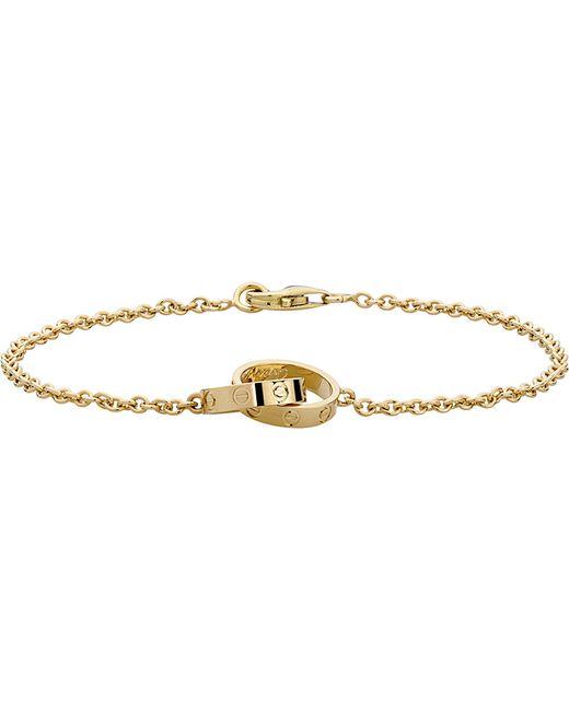 Cartier | Love 18ct Yellow-gold Bracelet | Lyst